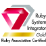 Ruby System Integrator Gold/Ruby Association Certifield
