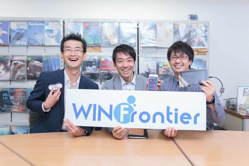 WINフロンティア株式会社様、弊社担当