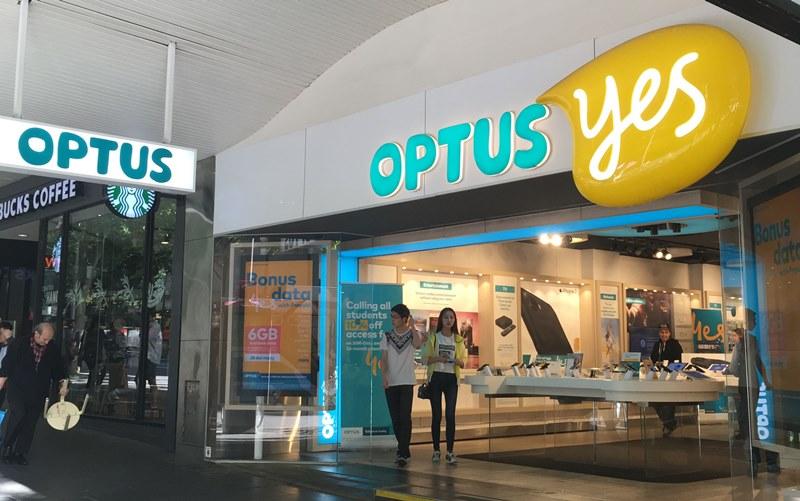 OPTUS店舗