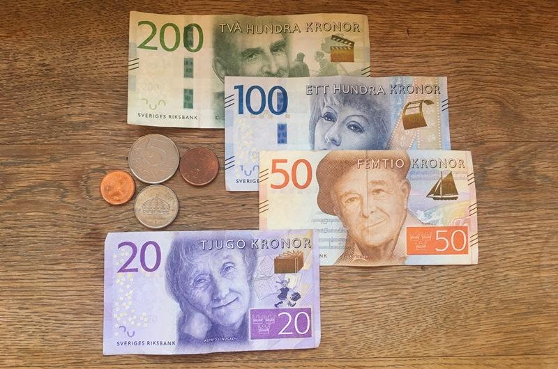 sveriges kronor