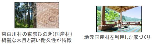 岐阜県東白川村の例
